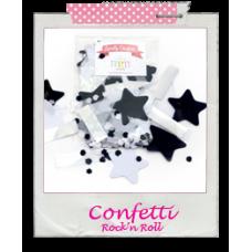 Confetti Pastel monochrome