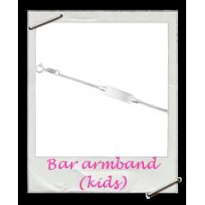 Armband Bar Zilver (Kids)