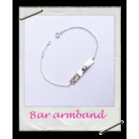 Armband Bar Zilver
