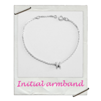 Armband Initial Zilver