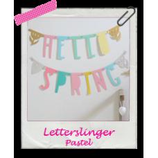 Letterslinger pastel