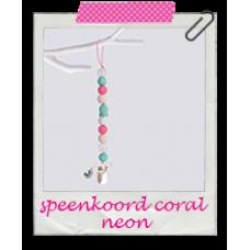 Speenkoord Coral neon