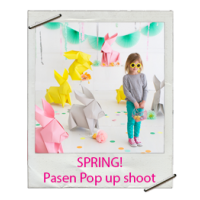 Spring! Pasen pop-up shoot